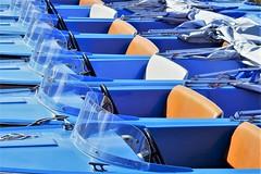Blaue Flotte (baseman88) Tags: boot boat steinhude meer see lower saxony niedersachsen germany flotte fleet blau blue fujifilm xt100