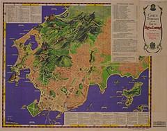 Mapa turístico do Rio de Janeiro (Arquivo Nacional do Brasil) Tags: riodejaneiro riodejaneirocity rioantigo map oldmap cartografia mapa mapaantigo arquivonacional arquivonacionaldobrasil
