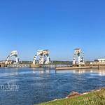 Dam and lock complex Amerongen, Nederrijn, Netherlands - 2372 thumbnail