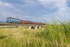 HZ 1141 027, Mraclin (josip_petrlic) Tags: hž hrvatske željeznice croatian railways railway railroad ferrovia eisenbahn željeznica železnice electric locomotive električna lokomotiva lokomotive teretni vlak freight train asea hz 1141