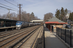 Amtrak 280 at Irvington - 1/15/2019 (John McCloskey Jr.) Tags: amtrak new york ge p32acdm irvington phase v hudson line river