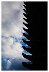 Barbican Centre (spencerrushton) Tags: spencerrushton spencer sky summer canon canonlens canonl colour canon5dmkiii 5dmk3 5dmkiii 24105mm canon24105mmlf4 zoomlens l london lightroom londonuk londoncity light cityoflondon city circularpolariser building architecture beautiful barbicancenter londonphotowalk londonstreet clouds