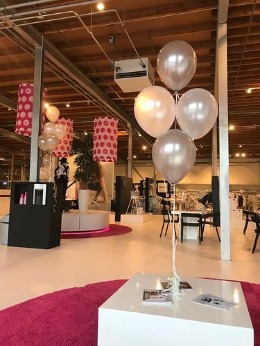 Tafeldecoratie 6ballonnen Babypark Gouda
