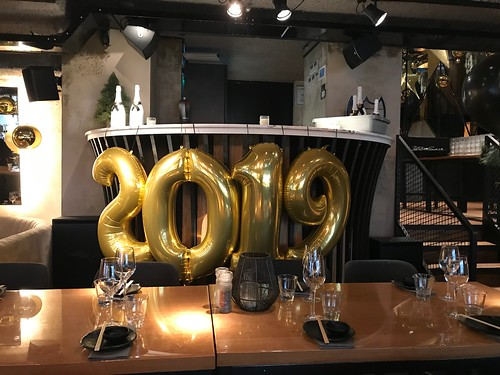 Folieballon Cijfer 2019 Cafe in the City Rotterdam