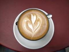 Strong caffe latte AUD4.70 - Sensory Lab, Rialto Melbourne - top (avlxyz) Tags: coffee caffe caffelatte drink cafe