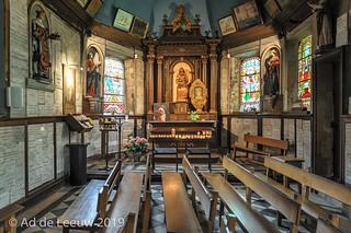 Kapel met relikwie van Saint Thrse of Lisieux