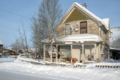 _ROS3592-Edit.jpg (Roshine Photography) Tags: yukonquest dawsoncity environmental winter cold residence buildingsandstructures snow historic yukonterritory downtown yukon canada ca