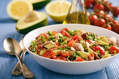 Recipe: Tuna and Avocado Cobb Salad (amazingexercises) Tags: workout diet nutrition cuisine natural poland