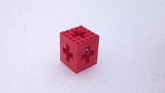 LEGO Menger Crosses (iterations) (marathontomay) Tags: lego fractal mengercross jerusalemcube math selfsimilar iteration
