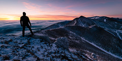 My kingdom (Tekila63) Tags: auvergne summit mountain sunrise cloud sancy portrait selfie