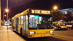 AMT 8673 (Lu_Pi) Tags: amt genova autobus bus bususato atmmilano iveco iveco491 cityclass cityclasscursor amtgenovalinea34 staglieno cimiterostaglieno