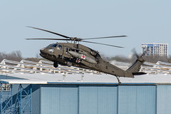US Army Sikorsky UH-60 Blackhawk (zfwaviation) Tags: kdal dal dallas love field texas aviation airplane aircraft plane jet military usn navy us army uh60 blackhawk p3 orion