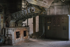(jkatanowski) Tags: abandoned forgotten industry indoor industrial decay dust postindustrial mess exploration urbex urban poland europe sony a7m2 50mm decayed rust
