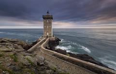 Poseidon's Domains - Part II (duartesol) Tags: kermorvan lighthouse bretagne france sea seascape farol path light sunset