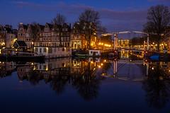 A0193418 (rpajrpaj) Tags: amsterdam cityscape nederland nederlandvandaag netherlands city sunrise bluehour thebluehour