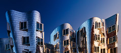 _MG_6813 - Gehry-Bauten №5 (AlexDROP) Tags: 2015 dusseldorf germany deutschland travel color abstract building city urban architecture canon6d ef241054lis best iconic famous mustsee picturesque postcard circpl goldenhour