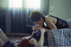 (Fabio Sabatini) Tags: martina isabella lovers couple loveislove 35mm film 35mmfilm analogue analog believeinfilm filmisnotdead girlsonfilm cinestill cinestill800t