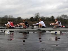 IMG_1012 (NUBCBlueStar) Tags: rowing remo rudern river aviron february march star university sunrise boat blue nubc sculling newcastle london canottaggio tyne hudson thames sweep eight pair