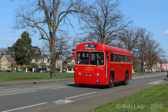 London Transport RF354 - MLL 991 (Bob Lear) Tags: mll991 rf354 londontransport rf aecregaliv adms amershamdistrict aec