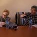 Japanese Ambassador to Ethiopia - Daisuke Matsunaga, and UNICEF Representative to Ethiopia - Ms.Gillian Mellsop, having discussion with Babilie zonal Administrators