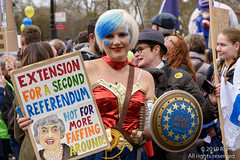 Put It To The People March - London, 23 March 2019 (The Weekly Bull) Tags: brexit britain conservative eu europeanunion london madeleinakay peoplesvote tory uk democracy demonstration protest rally rerun referendum remainers