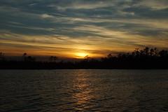 ...March sunset (Jim Atkins Sr) Tags: sunset cloudsstormssunsetssunrises cloudscape northcarolina northwestcreek fairfieldharbour hs30exr finepix
