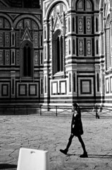 Florence in her stride (shanahands2) Tags: florence blackandwhite nikon d7000