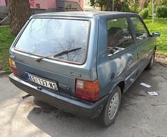 1987 Fiat Uno 45 (FromKG) Tags: fiat uno 45 blue car kragujevac serbia 2019