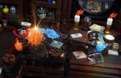 Dr. Strange VS Baron Mordo (Ben Cossy) Tags: dr doctor stephen strange baron mordo wizard sanctum sanctorum battle comic fight comicbook lego afol tfol moc marvel mcu