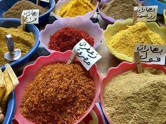 Egyptian spices, Luxor souk, Egypt (cattan2011) Tags: egypt luxor egyptianspices spices foodie food traveltuesday travelphotography travelbloggers travel egyptiansouk souk landscape