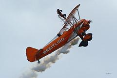 Boeing A 75N1 Kaydet n° 75-0950  ~ N707TJ / 3 (Aero.passion DBC-1) Tags: meeting cambrai 2011 dbc1 david biscove aeropassion avion aviation aircraft plane airshow boeing a75 stearman kaydet ~ n707tj
