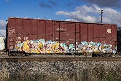 (o texano) Tags: texas trains freights graffiti bench benching ruinr redes dib