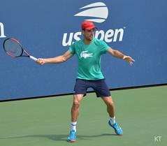 Roberto Bautista Agut (Carine06) Tags: tennis usopen 2018 flushingmeadows corona newyork practice kt20180826077 robertobautistaagut