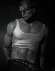 Skip~Well... VUK it! (Skip Staheli *11 YEARS SL PHOTOGRAPHY*) Tags: skipstaheli secondlife sl sexy sensual erotic male fashion vuk doux avatar virtualworld