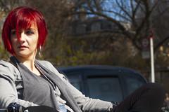 DSC_8192 (sven_herrmann_ny) Tags: model beauty bench hair red portrait london uk england hairdo cut modern color chelsea