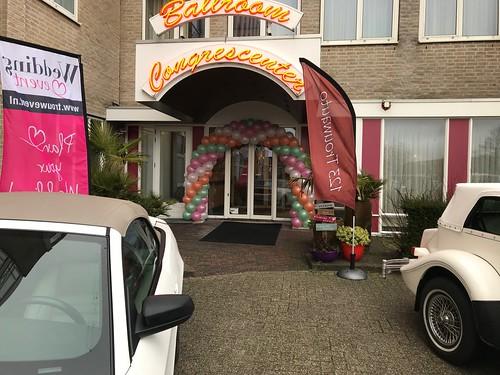 Ballonboog 6m Bruidsbeurs Carlton Oasis Hotel Spijkenisse