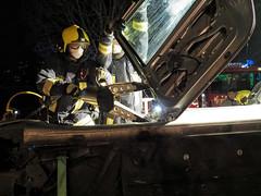EMS and fireservice (Paramedix) Tags: fireservice feuerwehr rettungsdienst ems unfall accident drk oberndorf germany deutschland badenwürttemberg medics übung exercise