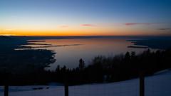 Bodensee, Lake Constance from Pfänder Austria (marcelweikart) Tags: bodensee lake constance sunset sonnenuntergang österreich austria pfänder berg see lago farbe color licht neu new sony 7rii alpha