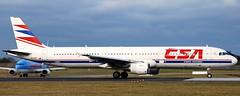 Airbus A-321 OK-CEC (707-348C) Tags: dublinairport dublin eidw passenger airliner jetliner airbus airbusa321 a321 csaczechairlines ireland csaczech csa ok dub 2011