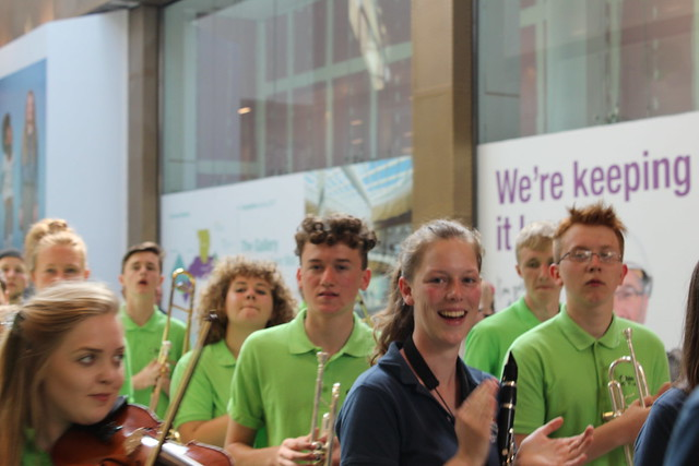 Robin Hood Youth Orchestra & the Jugendorchester Stadt Karlsruhe, from Karlsruhe, Germany