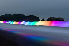 Rodeo Beach (suisun) Tags: lightpainting beach ocean rodeobeach california