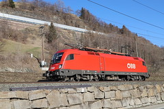ÖBB 1116 134-7 Stromabnehmerschaden, Matrei am Brenner (TaurusES64U4) Tags: öbb taurus 1116