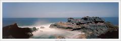 Fotoman 6x17, Atlantic, La Palma (Dierk Topp) Tags: 6x17 fotoman6x17 ilce7rii ilce7rm2 schneidersuperangulon90mm sonya7rii analog atlantic canaryislands islascanarias lapalma longtimeexposure pano panorama seascapes wasser water waves