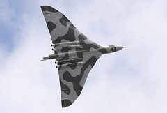 Avro Vulcan (Graham Paul Spicer) Tags: avro vulcan bomber raf royalairforce military warplane classic preserved vintage bombercommand strikecommand 1group vtts xh558 airshow aircraft plane flying aviation display
