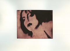 Noir (micalngelo) Tags: alternativephotography alternativeprocess contactprint intaglio chinecolleprocess chinecolle solarplategravure photogravure noir gampipaper portrait