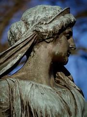 Forgotten (jennbastian) Tags: statue grave cemetery