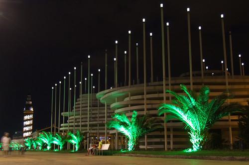 Casino Campione at night, 07.09.2013.