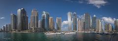 Dubai Harbour Skyline (Thomas Louis) Tags: dubai uae skyline city panorama harbour water 2018 modern cityscape skyscraper buildings