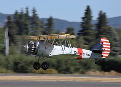 1941 Naval A/c Factory N3N-3 S/n 2691 N45300 (GEM097) Tags: airplane aircraft biplane waaam2018flyin hoodriver navalaircraftfactoryn3n n45300