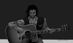 Know any Slash Ben (Becks (Rebecca)) Tags: ben playing guitar acoustic secondlife sl avatar avi tunes